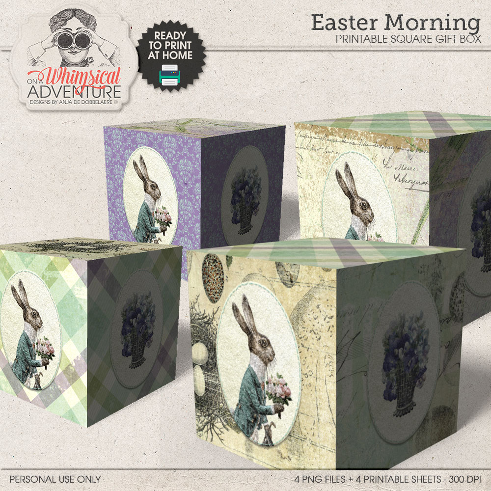 Easter Morning Gift Box by On A Whimsical Adventure