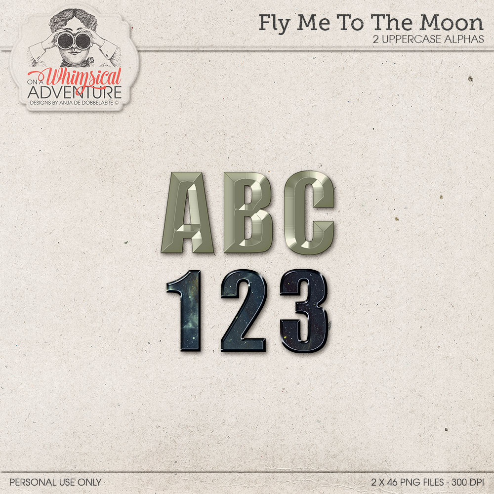 Fly Me To The Moon Alpha by On A Whimsical Adventure