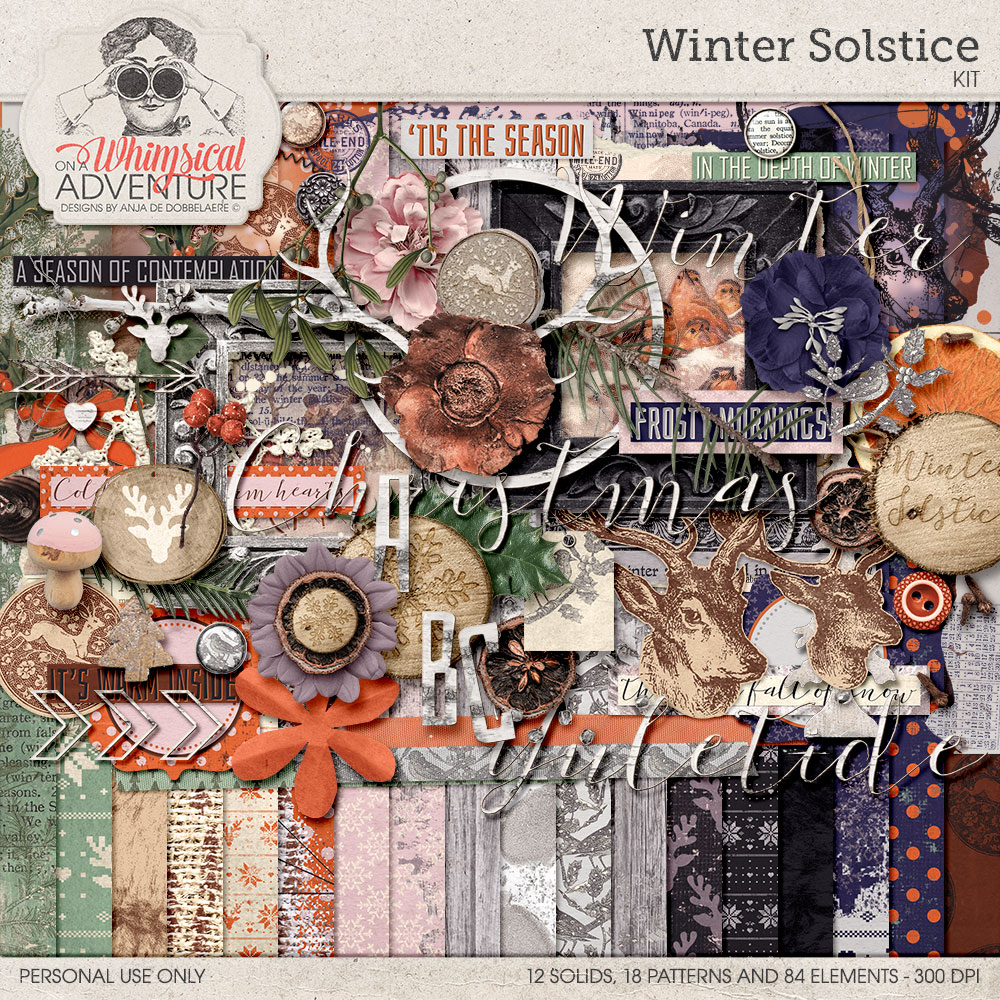 Winter Solstice Kit by On A Whimsical Adventure