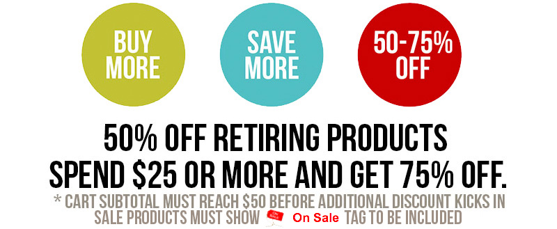 Buy More, Save More Sale