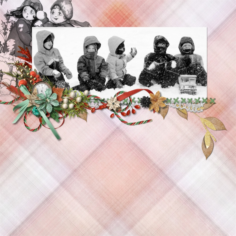 Christmas Memories by Snickerdoodle Designs; Layout by Rochelle