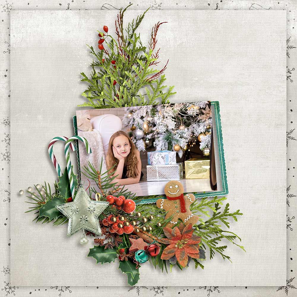 Christmas Memories by Snickerdoodle Designs; Layout by Norma