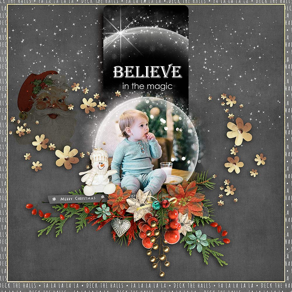 Christmas Memories by Snickerdoodle Designs; Layout by Glori