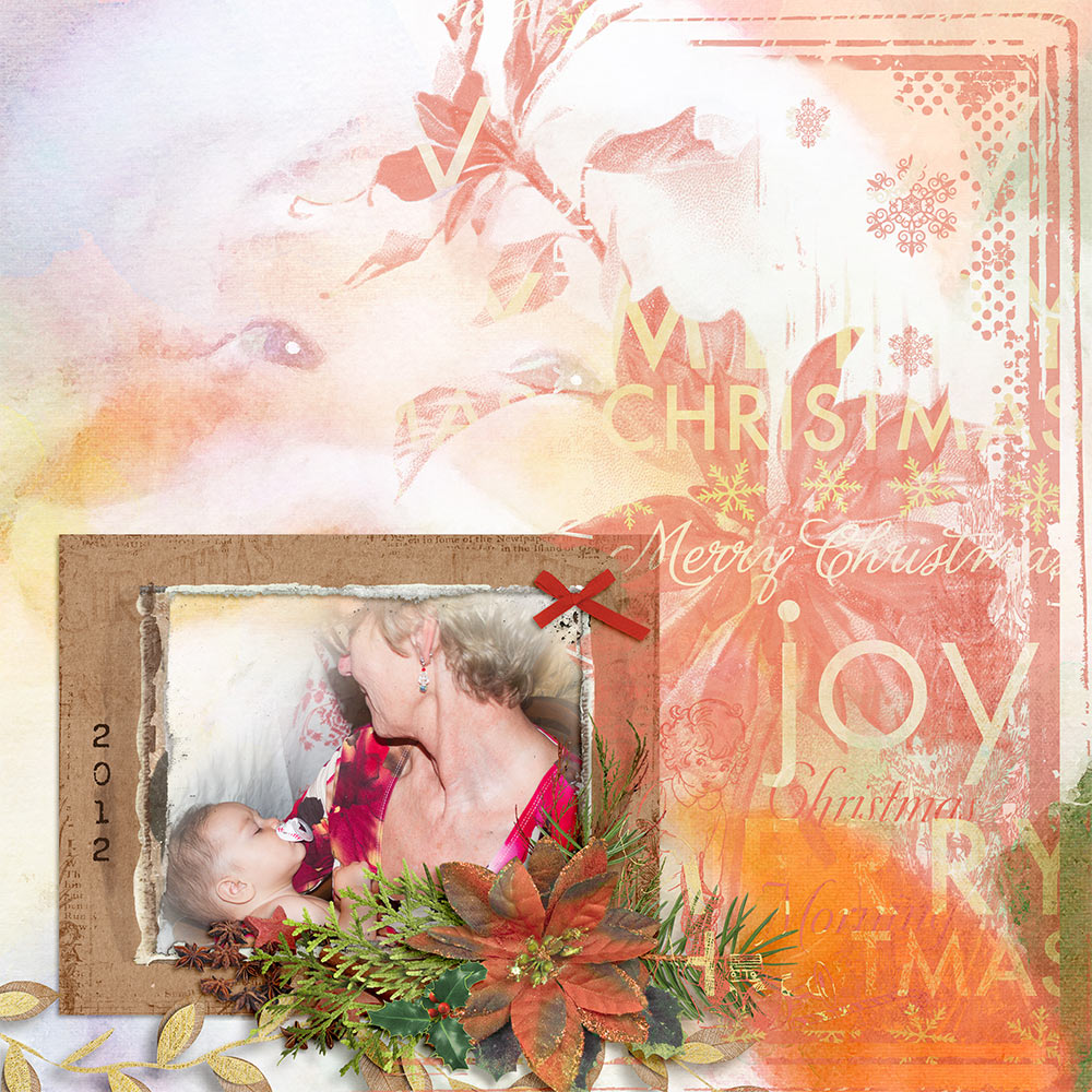 Christmas Memories by Snickerdoodle Designs; Layout by MsBrad