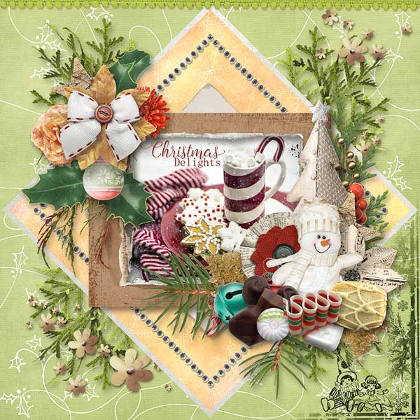 Christmas Memories by Snickerdoodle Designs; Layout by Kabra