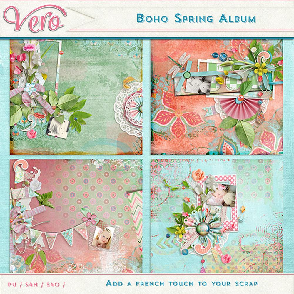 Boho Spring Album by Vero