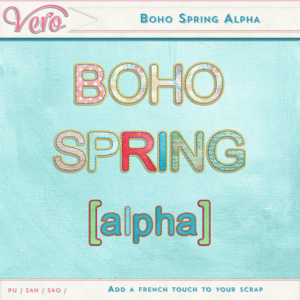Boho Spring Alpha by Vero