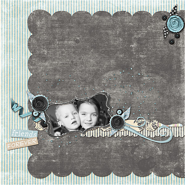 Whimsy layout by Diane