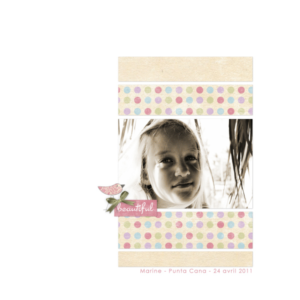 Whimsy layout by Dumpty