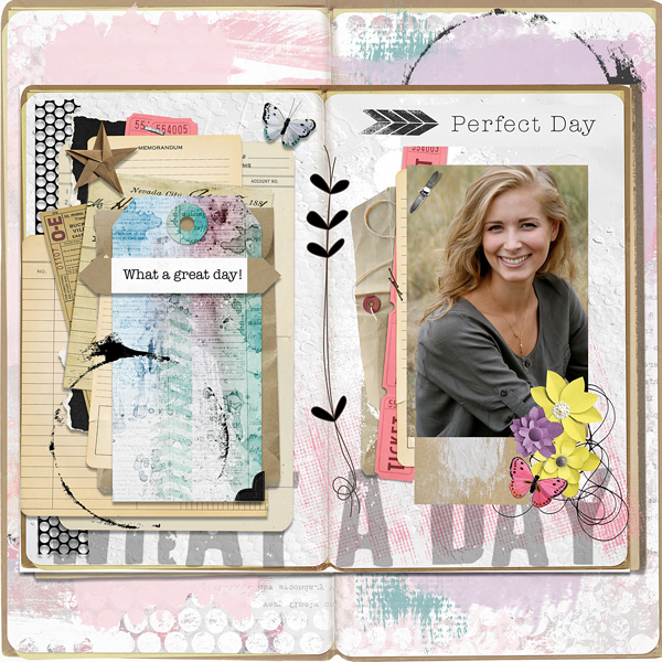 A Perfect Day by Vicki Robinson Layout 3