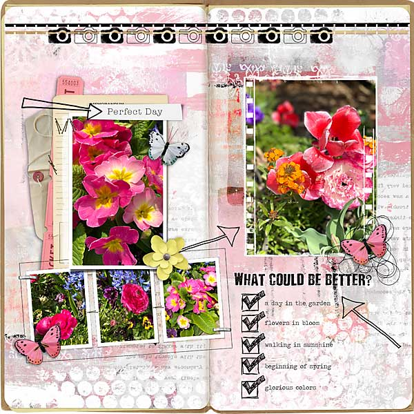 Layout A Perfect Day by Vicki Robinson 5