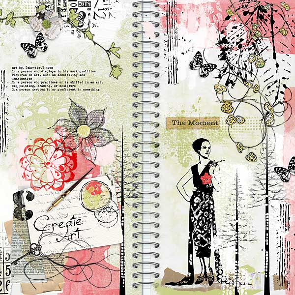 Junque Journal 03 Sample Layout 08