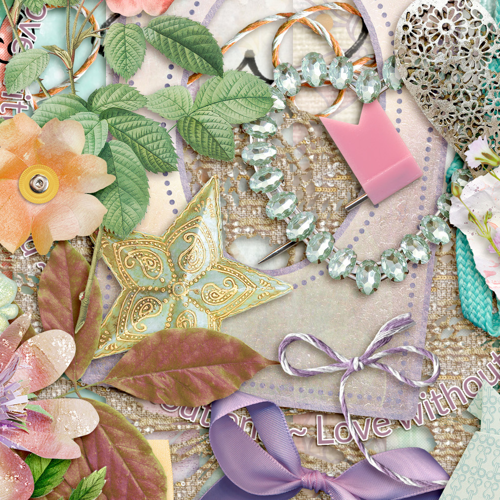 Mothers and Daughters Kit Detail by Snickerdoodle Designs
