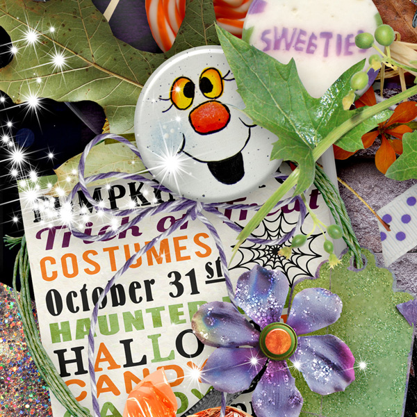 Trick or Treat by Snickerdoodle Designsgns