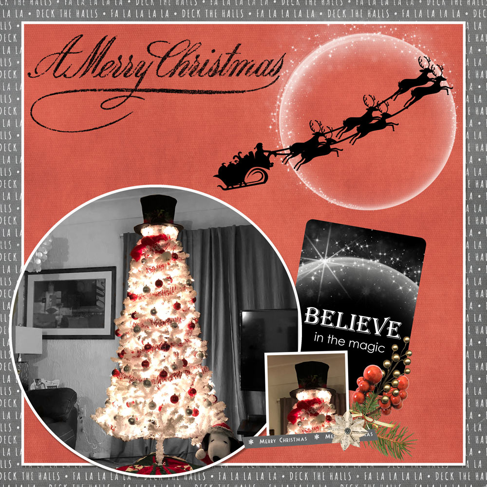 Christmas Memories by Snickerdoodle Designs; Layout by Cathy