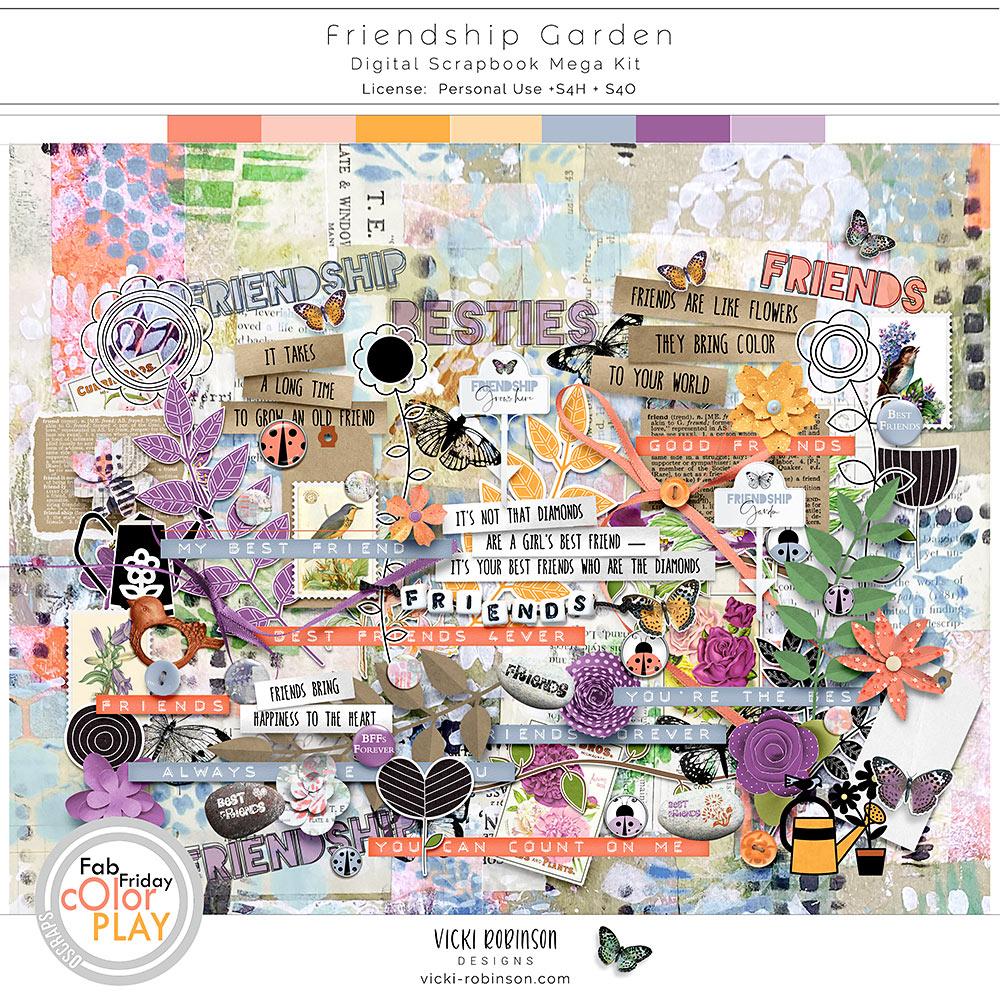 Friendship Garden Kit by Vicki Robinson