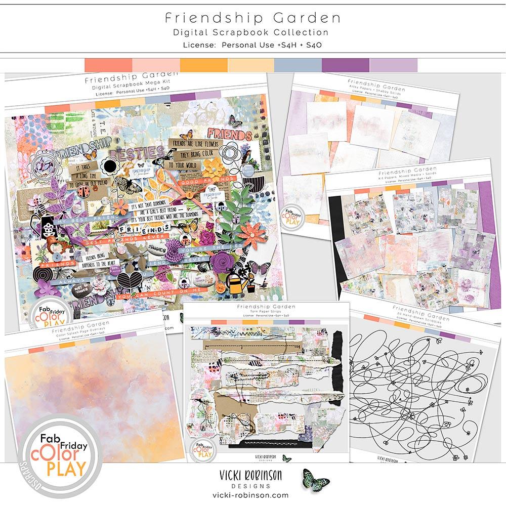 Friendship Garden Collection by Vicki Robinson
