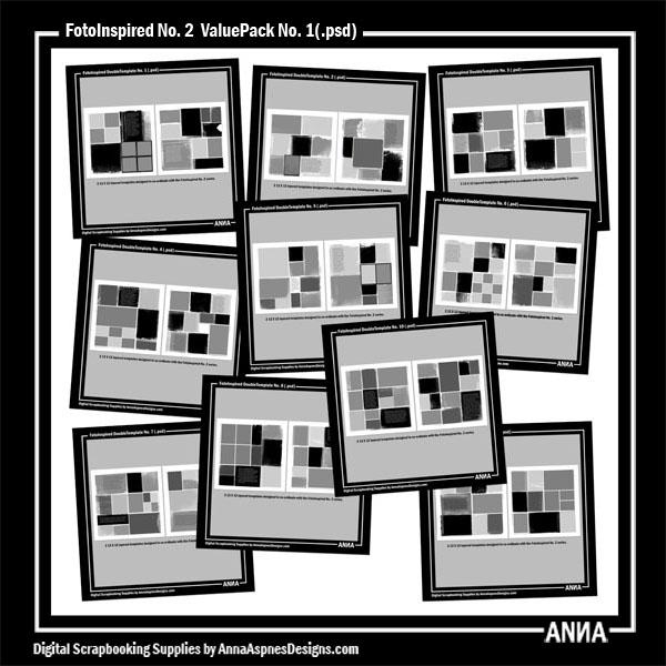 FotoInspired No. 2 ValuePack No. 1