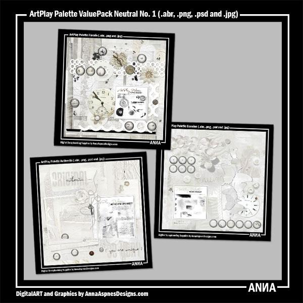ArtPlay Palette ValuePack Neutral No. 1