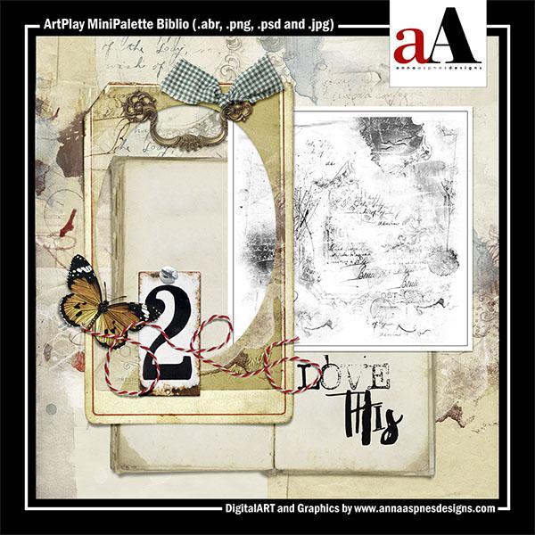 ArtPlay MiniPalette Biblio