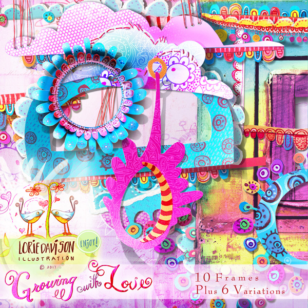 Growing With Love Frames