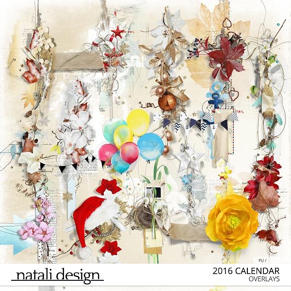 Calendar Overlays 2016
