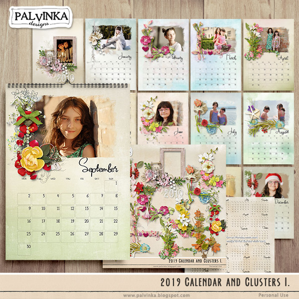 2019 - Calendar and Clusters I.