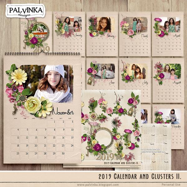 2019 - Calendar and Clusters II.