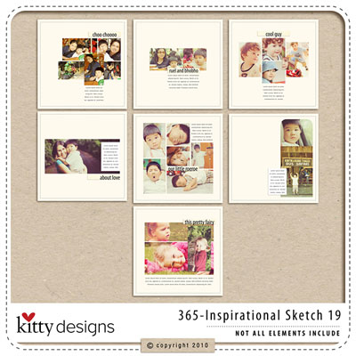 365 Inspirational Sketches Ver.19