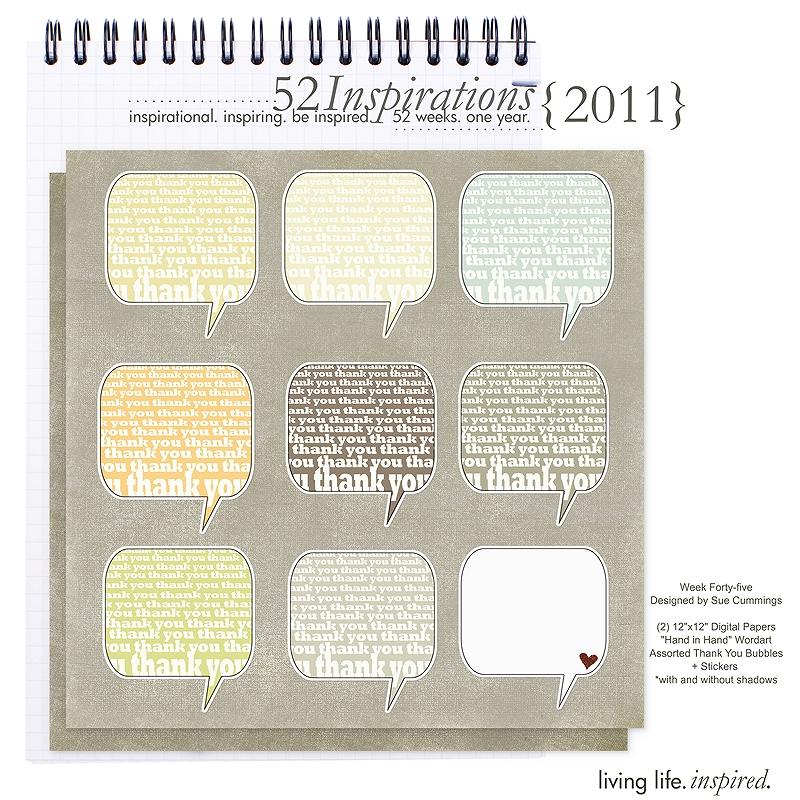 52 Inspirations :: 2011 {Week 45}