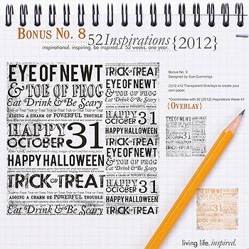 52 Inspirations :: 2012 Bonus No. 8