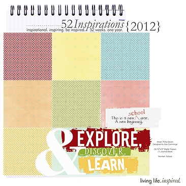 52 Inspirations :: 2012 {Week 37}
