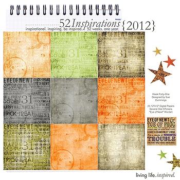 52 Inspirations :: 2012 {Week 41}