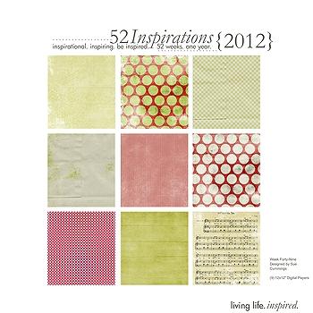52 Inspirations :: 2012 {Week 49}