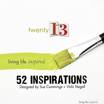 52 Inspirations :: 2013 {SUBSCRIPTION}