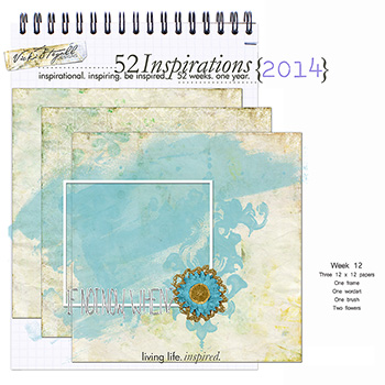 52 Inspirations 2014 - week 12