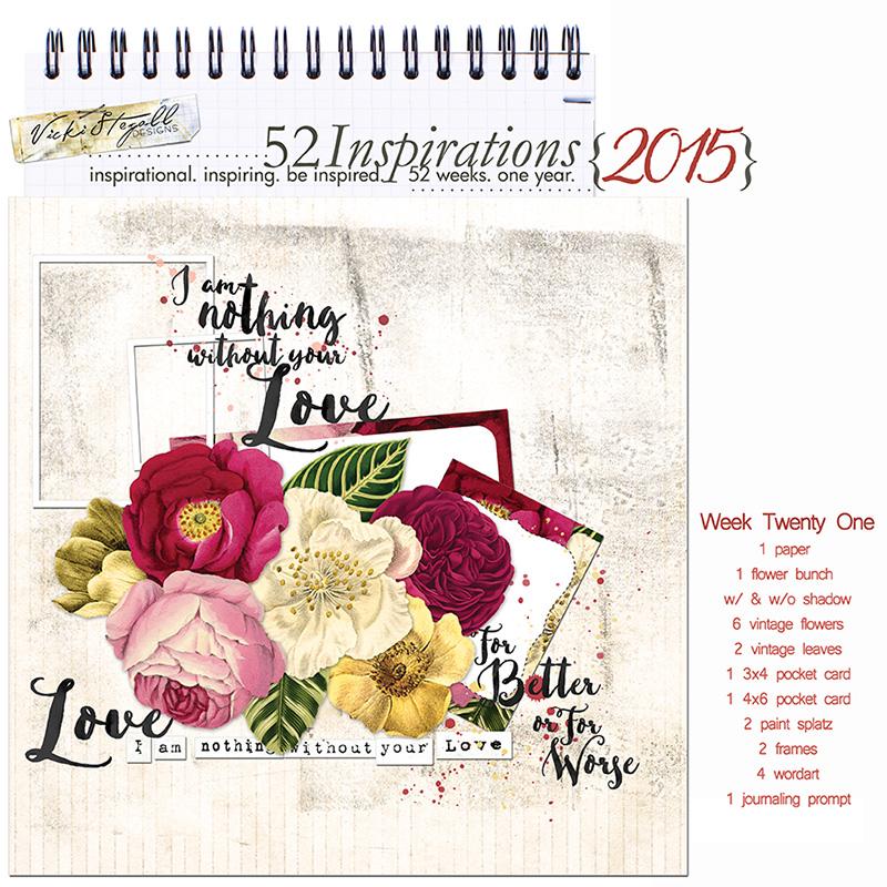 52 Inspirations 2015 - week 21