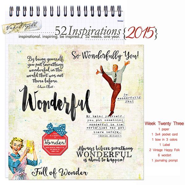 52 Inspirations 2015 - week 23