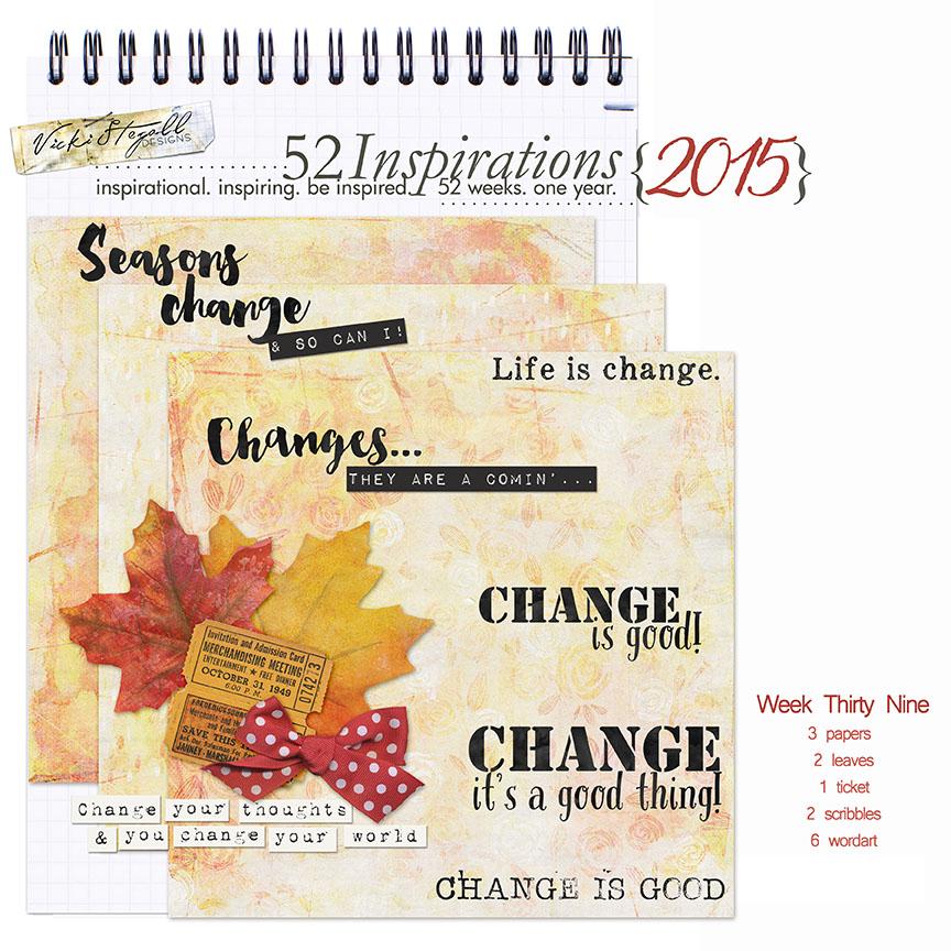 52 Inspirations 2015 - week 39