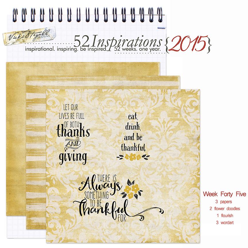 52 Inspirations 2015 - week 45