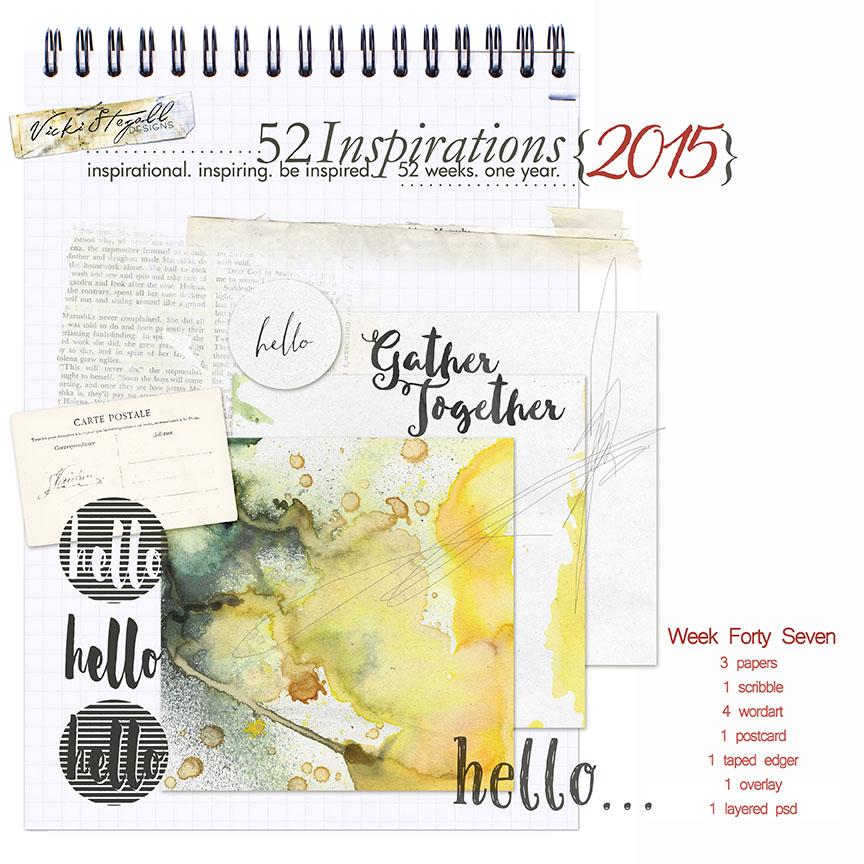 52 Inspirations 2015 - wk 47