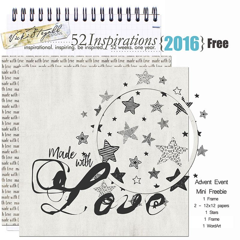 52 Inspirations 2016 - FREEBIE