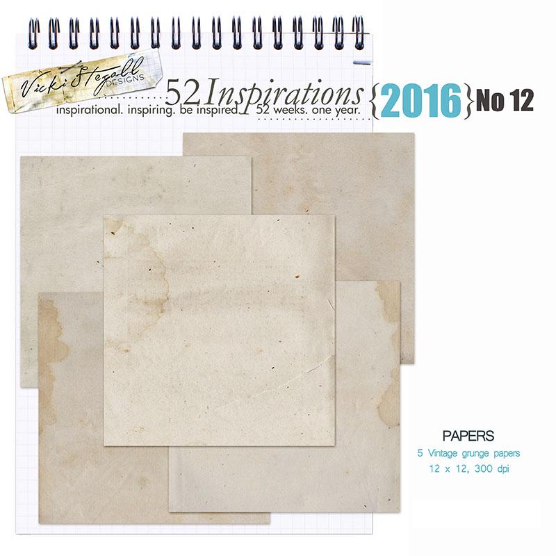 52 Inspirations 2016 - no 12