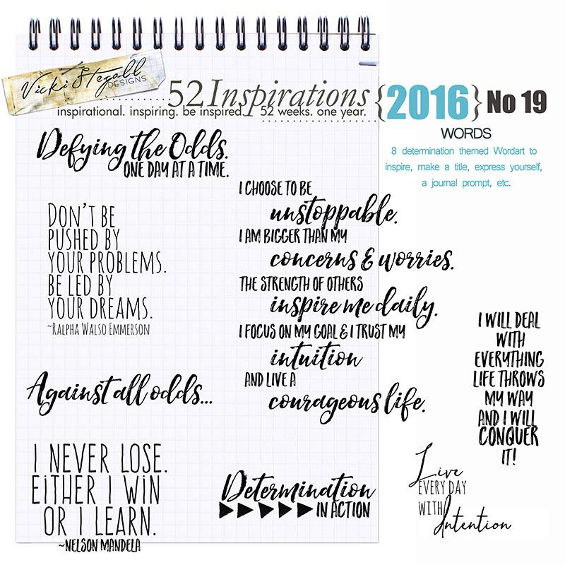 52 Inspirations 2016 - no 19