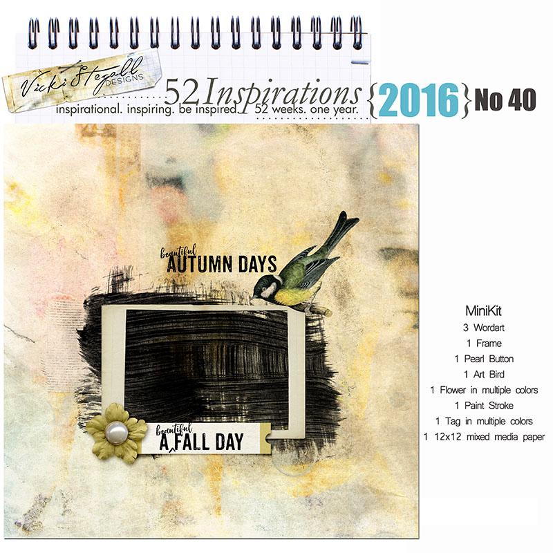 52 Inspirations 2016 - no 40