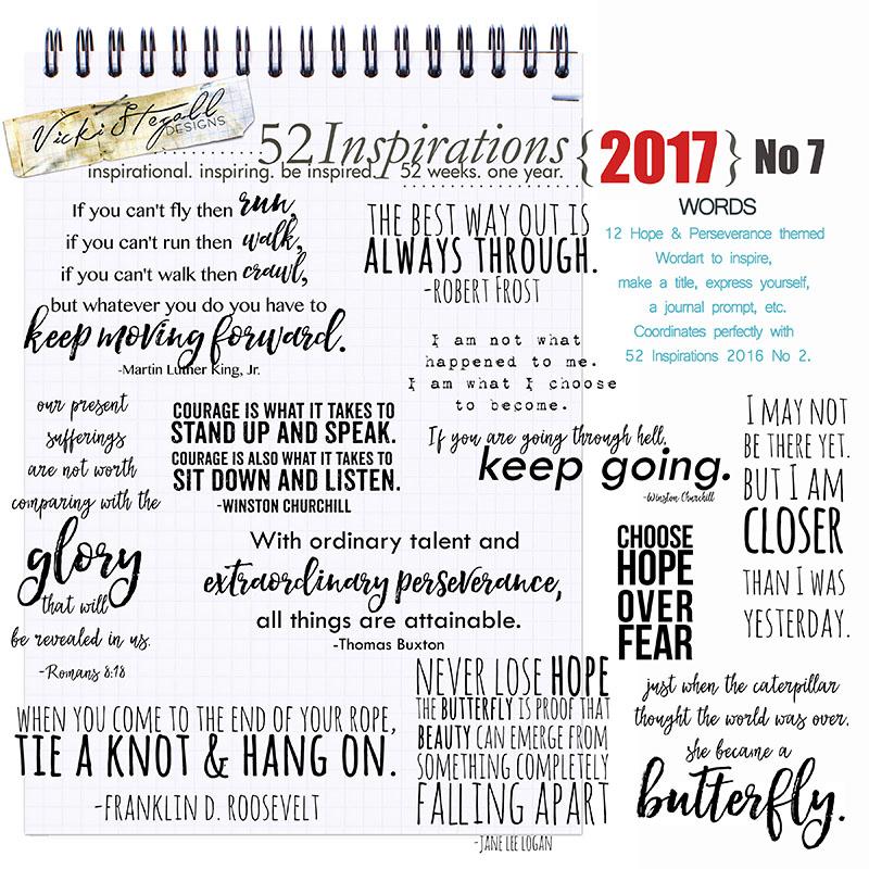 52 Inspirations 2017 - no 7