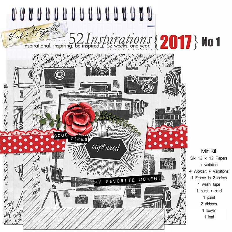 52 Inspirations 2017 - no 1