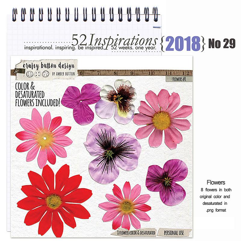 52 Inspirations 2018 No 29 Flowers no 1
