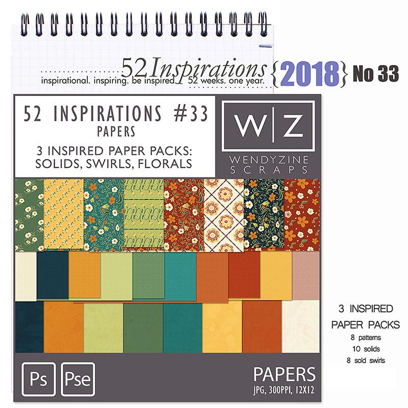 52 Inspirations 2018 -  no 33  by Wendyzine