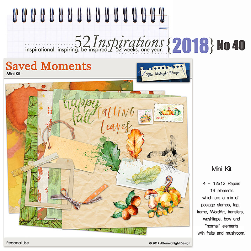52 Inspirations 2018 -  No 40 by Aftermidnight Design